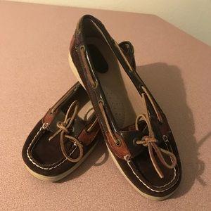 Brown Sperry Angelfish Boat Shoe